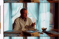 "Wolfgang Dabernig als Arzt im Film ""Hypercrisis"""