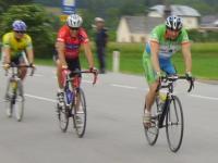 Österreichische Staatsmeisterschaften Behindertenradsport, Strasse am 24.6.2006 - Rennen: Walter, Dabernig und Stauffer