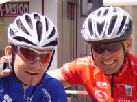 Paralympicbronzemedaillengewinner Erich Winkler und Paralympicsilbermedallengewinner Wolfgang Dabernig