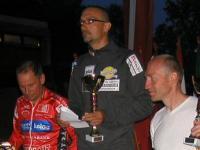 Siegerehrung Sprint: von links Wolfgang Dabernig; Alexander Hohlrieder ,Tirol ; Michal Stark, Tschechien