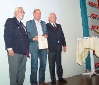 ASVÖ-Kärnten Ehrenpräsident Johann Führer, Wolfgang Dabernig, ASVÖ-Österreich-Präsident Siegfried Robatscher