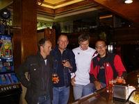 Wolfgang Eibeck, Radlwolf, Manfred Gattringer und Alexander Hohlrieder bei der Nachbetrachtung der vergangenen Tage