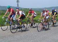 Radlwolf und Alfred Kaiblinger mit Freunden in den Bergen rund um San Marino