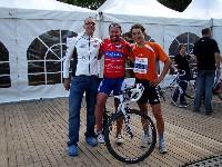 Alexander Hohlrieder, Radlwolf und Michael Kurz nach ihrer ausgezeichneten Leistung