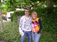 Edu Alcaide und Silke Napetschnig