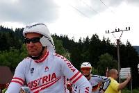 Radlwolf mit dem 13-fachen Weltmeister und dreifachen Paralympicsieger Michael Teuber