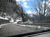 Wintereinbruch am Plöckenpass