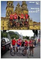Die Pilgerradler in Lourdes und Santiago de Compostela