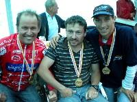 Radlwolf, Seppl Stabentheiner, Michael Kurz, drei Sieger bei der Meisterschaft