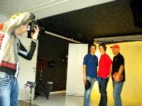 Radlwolf beim Fotoshooting für die Kärnten Sport Kollektion