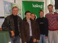 v.l. Radlwolf, Andrea und Eveline Zweibrot, Stefanie Wiedner und Uwe Hochenwarter