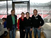 Erich Trupp Rollstuhltennis, Eveline und Andrea Zwibrot Blindenradsport und Radlwolf