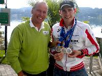 Radlwolf mit dem Weltmeister im Paratriathlon und Duathlon Christian Troger