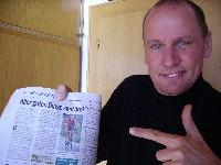Radlwolf mit der Kleinen Zeitung