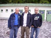 Wolfgang Dabernig, Fritz Strobl, Daniel Mesotitsch