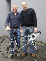 Reinhold Traußnig und Radlwolf