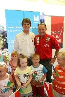 Segler Niko Resch und Behindertenradsportler Wolfgang Dabernig