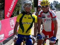 Michi Kurz und Radlwolf bei den Staatsmeisterschaften 2012 im Behindertenradsport in Langenlois/NÖ