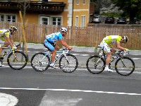 Ergebnis Sprintwertung Oberdrauburg 1. Andre Greipel (THR), 2. Rober Förster (MRM), 3. Leigh Howard (THR).
