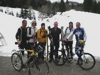 Ob Schifahrer oder Radfahrer, alles trifft sich auf der Ödenhütte