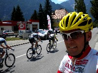 Radlwolf bei der Österreich Radrundfahrt in Lienz