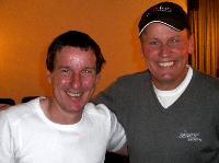 Helmut Ortner und Wolfgang Dabernig, beide verbindet auch der gemeinsame Geburtstag am 17.Juni