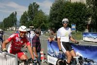 v. links: Radwolf und Alexander Hohlrieder beim Start