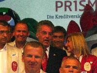 Wolfgang Dabernig, Bundespräsident Dr. Heinz Fischer, Silke Napetschnig