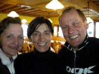 Karin Franz, Gabriella Paruzzi und Radlwolf