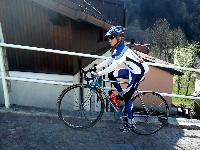 Nils ein hoffnungsvoller Nachwuchsradler