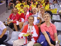 Erich Stauffer, Radlwolf, Adi Klingberg, Gerhild Huber, vorne Hertha Eibeck, Gisela Danzl