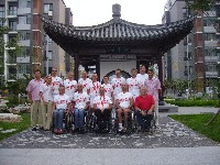 Österr. Radteam bei den Paralympics in Peking 2008