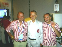Wolfgang Dabernig, Sportstaatssekretär Reinhold Lopatka, Erich Stauffer