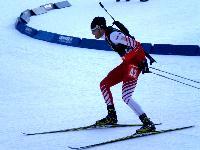 Der beste Österreicher Simon Eder unterwegs zu Platz neun