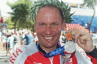 Silber bei den Paralympics 2004 in Athen