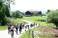 """Die Radler der """"Tour de Allgäu"""" im wunderschönen Gebiet um Oberstdorf"""
