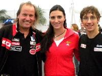 Wolfgang Dabernig, Olympia-Bronzemedallengewinnerin Peking 2008 Mirna Jukic und Michael Kurz