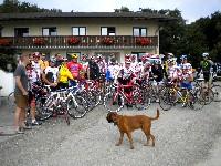 Franz Klammer mit Freunden bei der 4.Tour de Wienerwald 2010