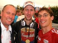 Radlwolf, Luftikus Olympiasieger und Welmeister Martin Koch und Michi Kurz