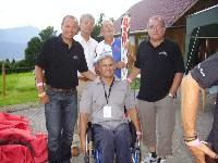 Radlwolf, Obmann Hobbyradrunde Feistritz Erich Pötscher, Klaus Klammer, Panaceo Erfinder Jakob Hraschan, P-Tec Chef Klaus Mamedof