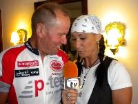 Radlwolf beim Kärnten TV Interview