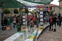 Radlwolf beim Start des 21 km WC EZF in Segovia