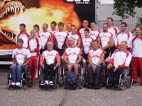 Österr. Behindertennationalmannschaft bei der WM 2007 in Bordeaux