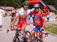 Weltmeister Alexander Hohlrieder und Radlwolf
