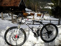 Winter MTB Tour zu den Schottischen Hochlandrindern in Kreuth bei Kötschach