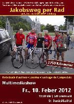 "Multimediashow ""Jakobsweg per Rad"" und ""Tour de Franz"" in St. Daniel/Gailtal"