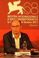 Josef Dabernig bei der Pressekonferenz der 68. Filmfestspiele von Venedig