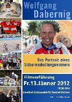 """Einladung Filmvorführung """"Das Portrait eines Silbermedaillengewinners"""" im Gasthof Grünwald in St. Daniel"""
