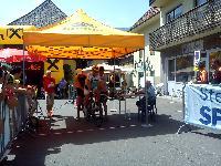 Radlwolf am Start der Staatsmeisterschaft im EZF in Mautern/Stmk.