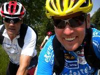 Mr. Millionenshow Armin Assinger und Radlwolf unterwegs nach Villach